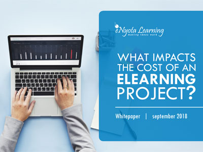 cost of elearning project